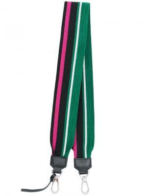 Полосатый ремень для сумки Proenza Schouler. Цвет: многоцветный