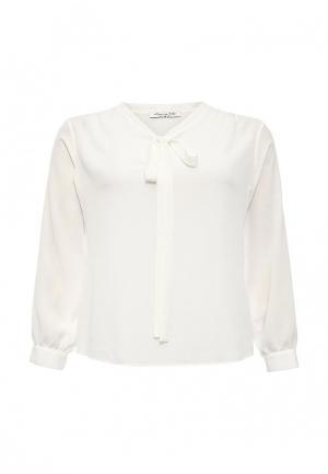 Блуза Love My Body. Цвет: белый