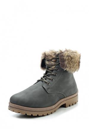 Ботинки Topway. Цвет: серый