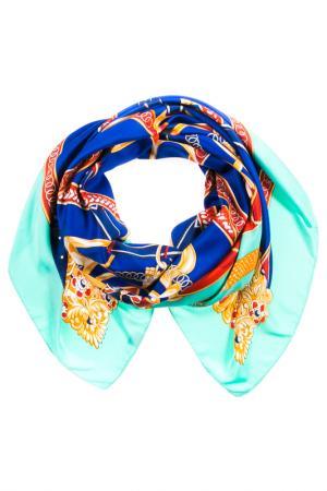 Платок Vita Pelle. Цвет: мятный, синий