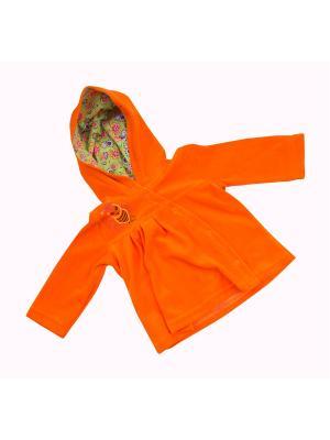 Толстовка Клякса. Цвет: оранжевый