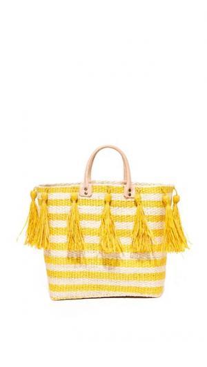 Объемная сумка с короткими ручками Sahara Mar Y Sol