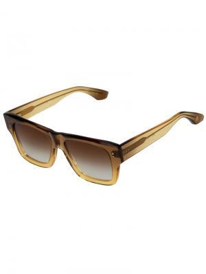 Солнечные очки Creator Dita Eyewear. Цвет: коричневый