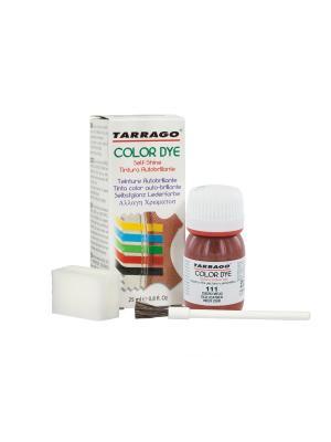Краситель COLOR DYE, стекло TDC01, 25мл. Tarrago. Цвет: темно-бордовый