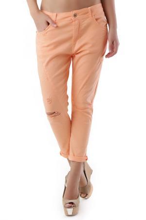 Брюки 525. Цвет: оранжевый
