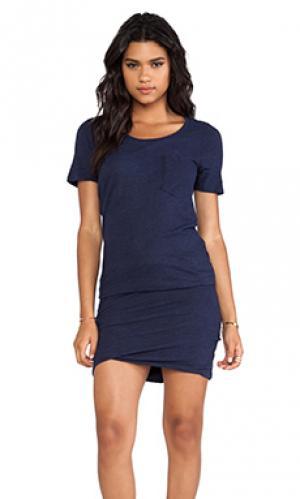 Платье granite MONROW. Цвет: синий