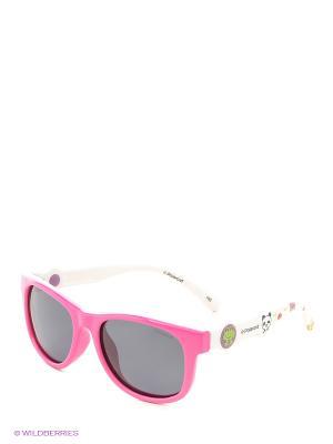 Солнцезащитные очки Polaroid. Цвет: фуксия