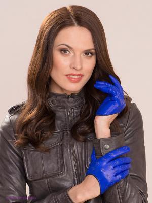 Перчатки Michel Katana. Цвет: индиго