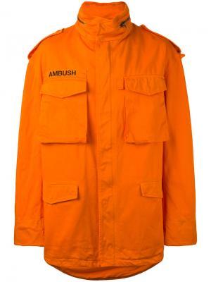 Куртка M65 Ambush. Цвет: жёлтый и оранжевый