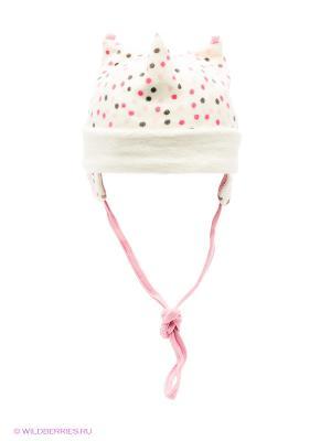Шапка Doell. Цвет: белый, розовый