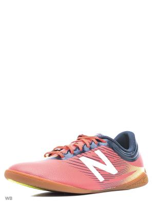 Бутсы NEW BALANCE FURON 2.0 DISPATCH IN. Цвет: коралловый, розовый