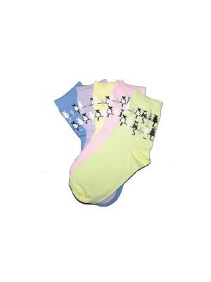 Носки женские М 3003 Грация. Цвет: салатовый