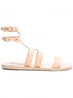 Сандалии Agapi Ancient Greek Sandals. Цвет: телесный