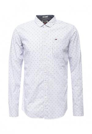Рубашка Tommy Hilfiger Denim. Цвет: белый