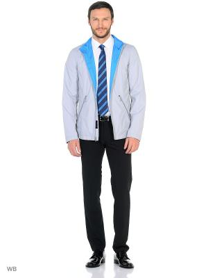 Куртка ABSOLUTEX. Цвет: серо-голубой