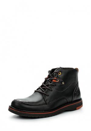 Ботинки West Coast. Цвет: черный