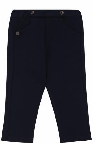 Трикотажные брюки Tartine Et Chocolat. Цвет: синий