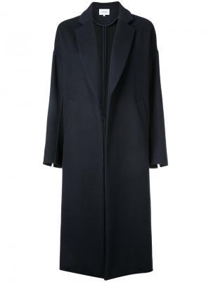 Удлиненное пальто Enföld. Цвет: синий