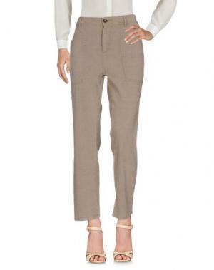 Повседневные брюки JAMES PERSE STANDARD. Цвет: хаки