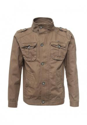 Куртка MeZaGuz. Цвет: бежевый
