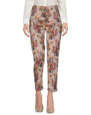 Повседневные брюки NOLITA. Цвет: телесный