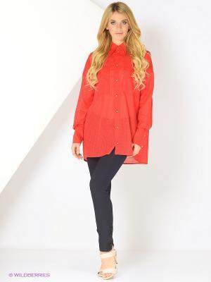 Рубашка Julia Ivanova. Цвет: красный