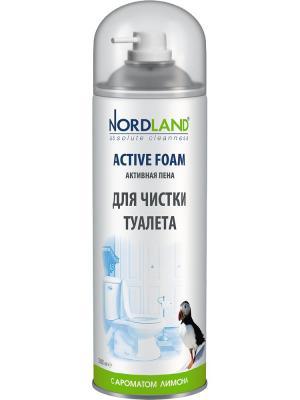 Nordland пена для чистки туалета с ароматом лимона, 500 мл.. Цвет: белый