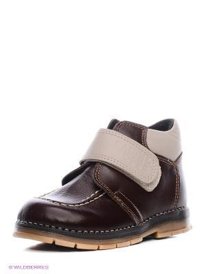 Ботинки ТАШИ ОРТО. Цвет: коричневый