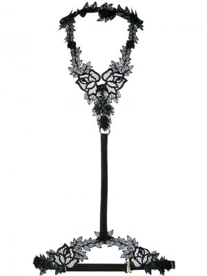 Nocturnal harness Fleur Of England. Цвет: чёрный