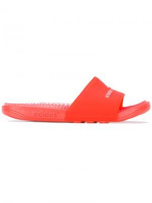 Шлепанцы Recovery Adidas By Stella Mccartney. Цвет: жёлтый и оранжевый