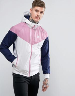 Nike Белая ветровка 727324-103. Цвет: белый