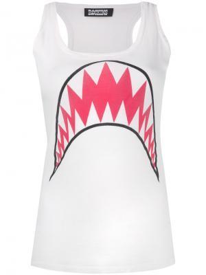 Топ Shark Rockins. Цвет: белый