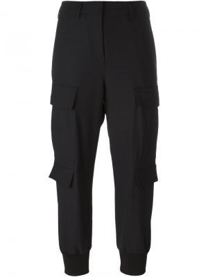 Укороченные брюки Neil Barrett. Цвет: синий