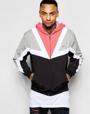 STAPLE PIGEON Куртка в стиле ретро. Цвет: черный