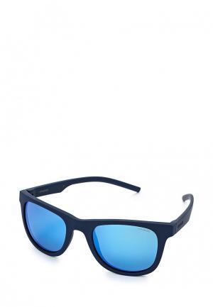 Очки солнцезащитные Polaroid. Цвет: синий