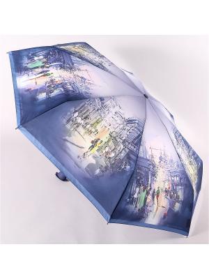 Зонт Zest. Цвет: синий, черный