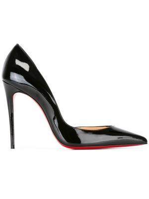 Туфли с заостренным носком Christian Louboutin. Цвет: чёрный