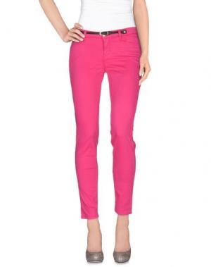 Повседневные брюки JECKERSON. Цвет: фуксия