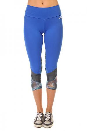 Леггинсы женские  New Zealand Legging Blue CajuBrasil. Цвет: синий