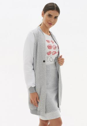 Куртка Sabellino. Цвет: серый