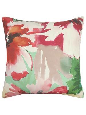 Чехол для декоративной подушки Камелия Altali. Цвет: зеленый