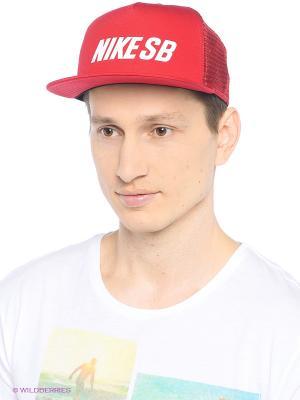 Кепка NIKE SB REFLECT TRUCKER. Цвет: красный