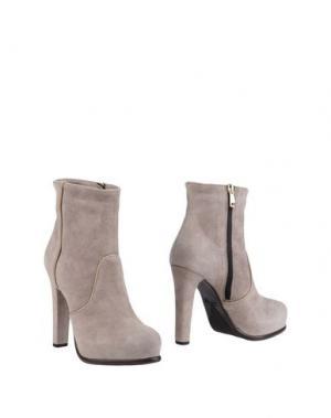 Полусапоги и высокие ботинки FRATELLI KARIDA. Цвет: светло-серый
