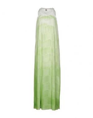 Длинное платье JIJIL. Цвет: зеленый