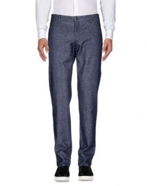 Повседневные брюки MORRIS. Цвет: синий