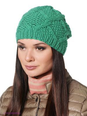 Шапка Ваша Шляпка. Цвет: зеленый
