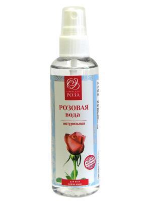 Вода розовая натуральная Крымская Роза. Цвет: белый