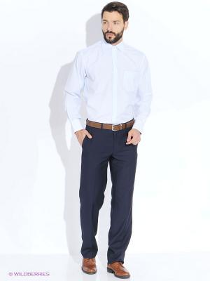 Рубашка LIVANSO. Цвет: голубой