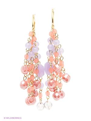 Серьги Maru by Safri. Цвет: розовый