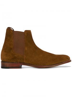 Ботинки по щиколотку Grenson. Цвет: коричневый
